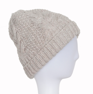 Wholesale Acrylic Customized Knitted Beanies with Metal Yarn
