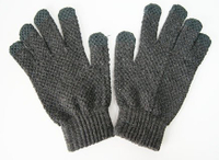 Arcylic Wholesale Unisex Handmade Knit Glove, Hand Knit Simple Gloves, Magic Glove