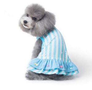 Dress Soft Cotton Puppy dog Cloth New Design Pet Cloth Hot Sale for Pets
