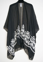 Black Free size goods quality lady pure mongolian new styles fashion with embroidery