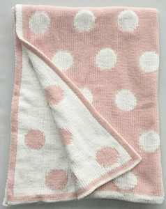 New Design Wholesale Customized Cotton Knit Baby Blanket