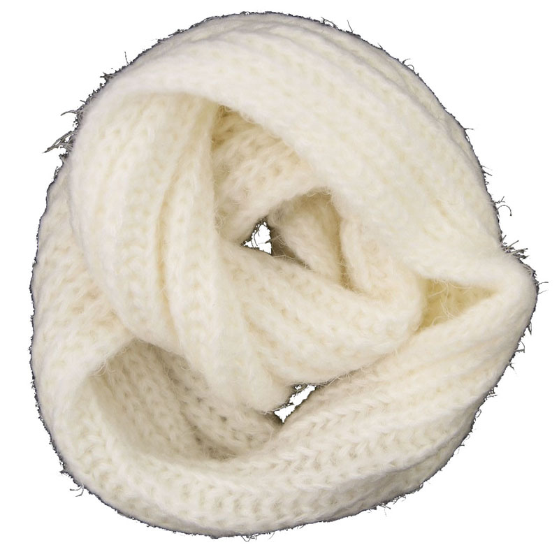 Wholesale Customized Acrylic Knitted Winter Neck Warmer Small MOQ Fashion Scarf Fashion Accessory