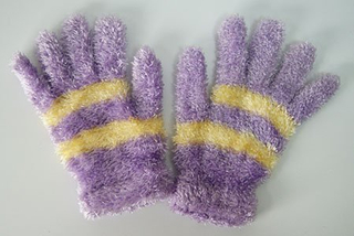 Magic Gloves/Girls Knitted Gloves /Winter Gloves Customized Knitted Acrylic Glove