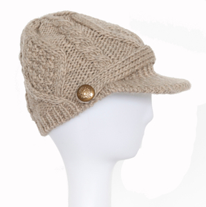 Wholesale Customized Simple Beanie Knitted Winter Warm Hat