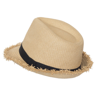 Wholesale Custom Raffia Paper Boater Floppy Straw Hat Panama Summer Beach Sun Hats