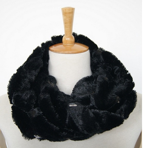 New Design Top Quality Polyester Neck Warmer with Sequin Custom Wholesale Scarf