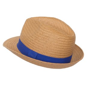 Customized Handmade Weaving Fedora Hats Paper Straw Hat Beach