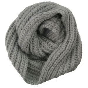 New Design Wholesale Customized Acrylic Knitted Winter Neck Warmer, Fashion Scarf
