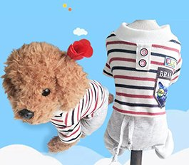 Dress Soft Cotton Puppy Dog Clothes 2018 New Design Pet Cloth Hot Sale