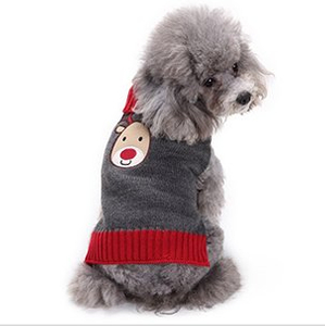 2018 New Design Acrylic Knitted Jacquard Wholesale Customized Hot Sale Pet Dog Warm Cloth