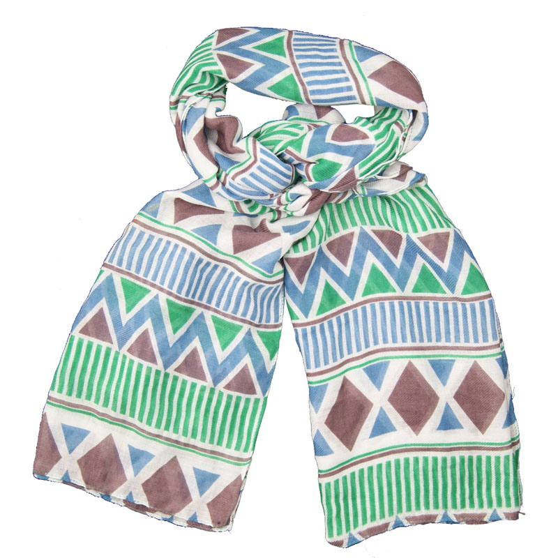 100% Polyester Customized Wholesale Lady Fashion Jacquard Woven Scarf High Quality