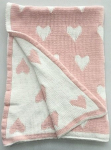 Super Soft Jacquard Cotton Knit Baby Blanket for Wholesalers