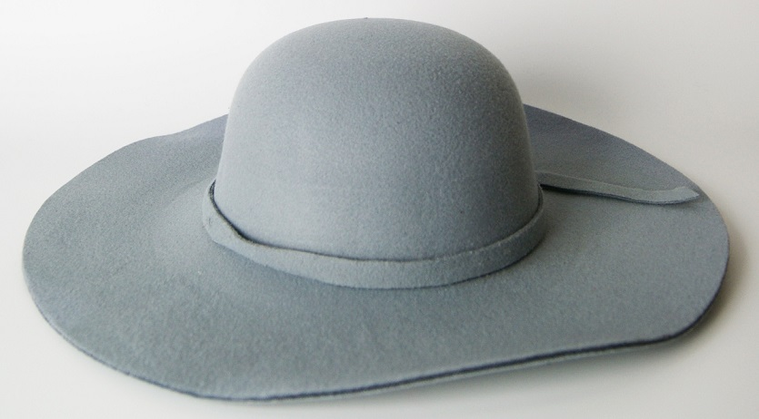 Lady Fashion Custom Wool Felt Hats Wholesale Floppy Fedora Hat